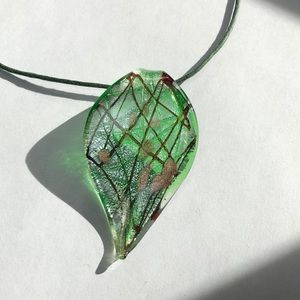Murano Jewelry Glass Necklace - Italy